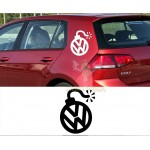 Volkswagen Bomba Araba Sticker