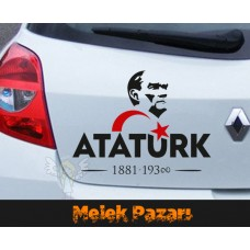 G. M. K. Atatürk Sticker