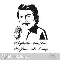 İstediğiniz Orhan Gencebay Sözü Araba Sticker