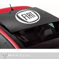 Fiat Sunroof Araba Sticker