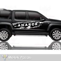 Volkswagen Amarok Off Road Araba Sticker