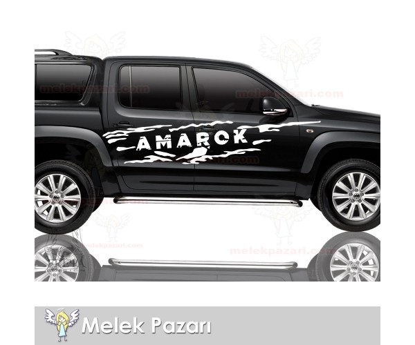Volkswagen Amarok Off Road Araba Sticker