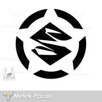Suzuki Logo Amblem Off Road Oto Sticker, Araba Stickerı