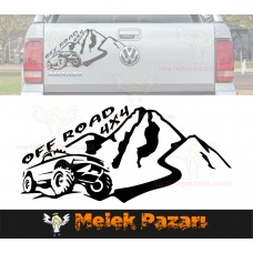 4x4 Off Road Dağ Oto Sticker, Araba Stickerı