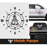 Dakar Pusula Off Road Oto Sticker