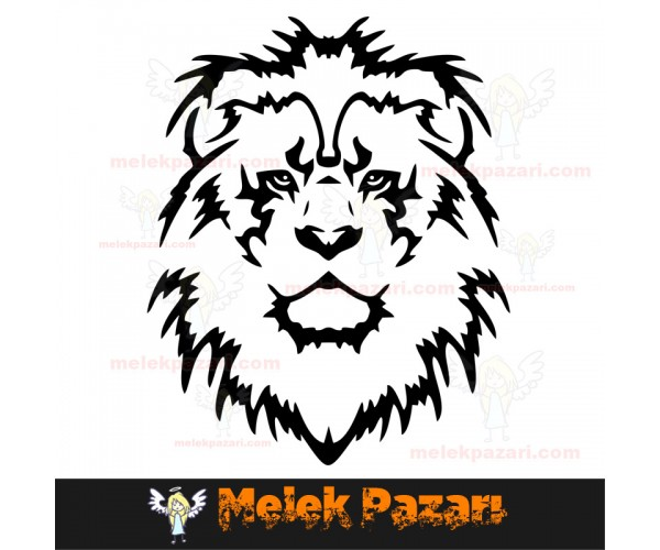 Aslan Oto Sticker