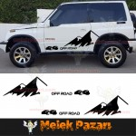 Suzuki Vitara 4x4 Off Road Araba Sticker