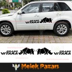 Grand Vitara Gergedan Araba Sticker