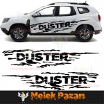 Duster Off Road Araba Sticker