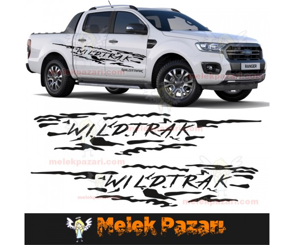 Ford Wildtrak Off Road Araba Sticker
