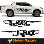 Isızu D-MAX Off Road Araba Sticker