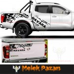 Nissan Navara Gövde Off Road Araba Sticker
