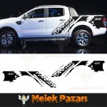 Ford Ranger Gövde Off Road Araba Sticker