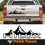 Toyota Hilux Off Road Araba Sticker