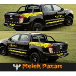 Ford Ranger Gövde Off Road 4x4 Araba Sticker