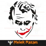 Joker Araba Sticker