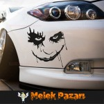 Joker Araba Sticker.