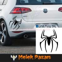 Örümcek Oto Sticker