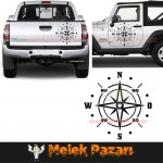 Pusula Off Road Sticker