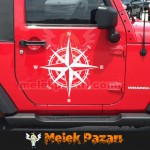 Pusula Araba Sticker