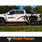 Off Road 4x4 Çamurluk Oto Sticker
