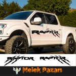 Pençe İzi Ford Raptor Off Road Oto Sticker