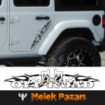 Dansçı Kızlar 4X4 Off-Road Araba Sticker