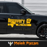 Discovery Dakar  Araba sticker. Sağ Sol Set