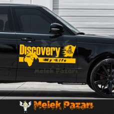 Discovery Dakar  Araba sticker. Sağ Sol Set