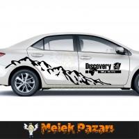 Discovery My Life Off Road Dağ Araba sticker