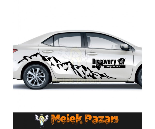 Discovery My Life Off Road Dağ Araba sticker