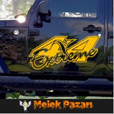 Extreme 4x4 Off Road Araba sticker