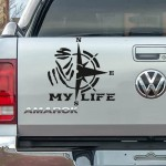 My Life Dakar Pusula Araba Sticker