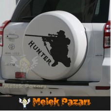Hunter, Avci Araba Sticker