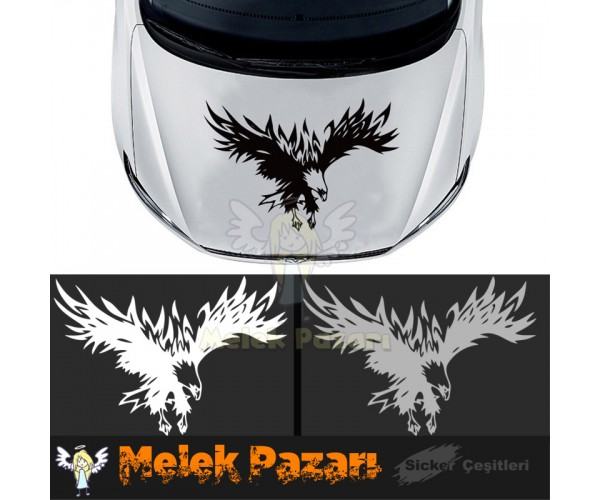 Tribal Kartal Sticker