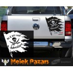 On & Off Road Adventure, Korsan Bayrağı Off Road Araba Sticker