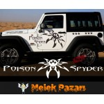 Poison Spyder Araba Sticker