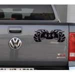 4 x 4 Off Road Araba Sticker