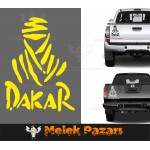 Dakar Araba Sticker