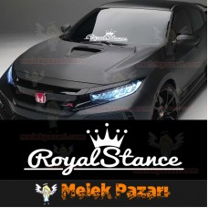 Royal Stance Oto Sticker