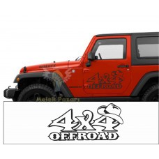 4X4 Off-Road Oto Sticker, Çıkartma