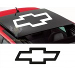Chevrolet Sunroof Araba Sticker