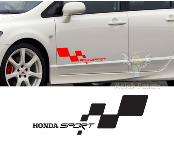 Honda Sport Araba Sticker