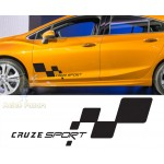 Chevrolet Cruze Sport Araba Sticker