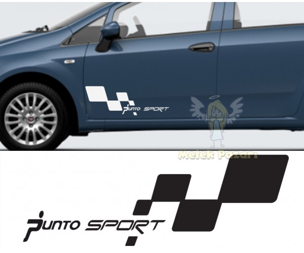 Fiat Punto Sport Araba Sticker