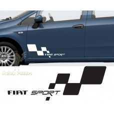 Fiat Sport Araba Sticker