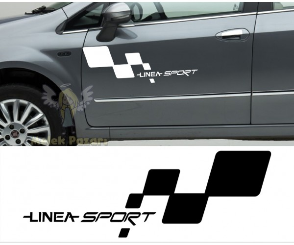Fiat Linea Sport Araba Sticker