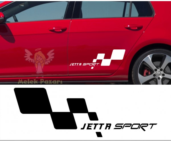 VW Jetta Sport Araba Sticker