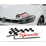 Sports Araba Sticker, Çıkartma