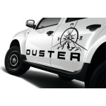 Dacia Duster Pusula Off Road Oto Sticker